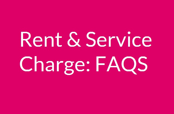 Rent and Service Charge: FAQs
