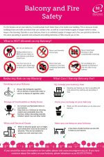Balcony and Fire Safety Leaflet